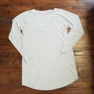 J. Crew Long Sleeve T Shirt Dress